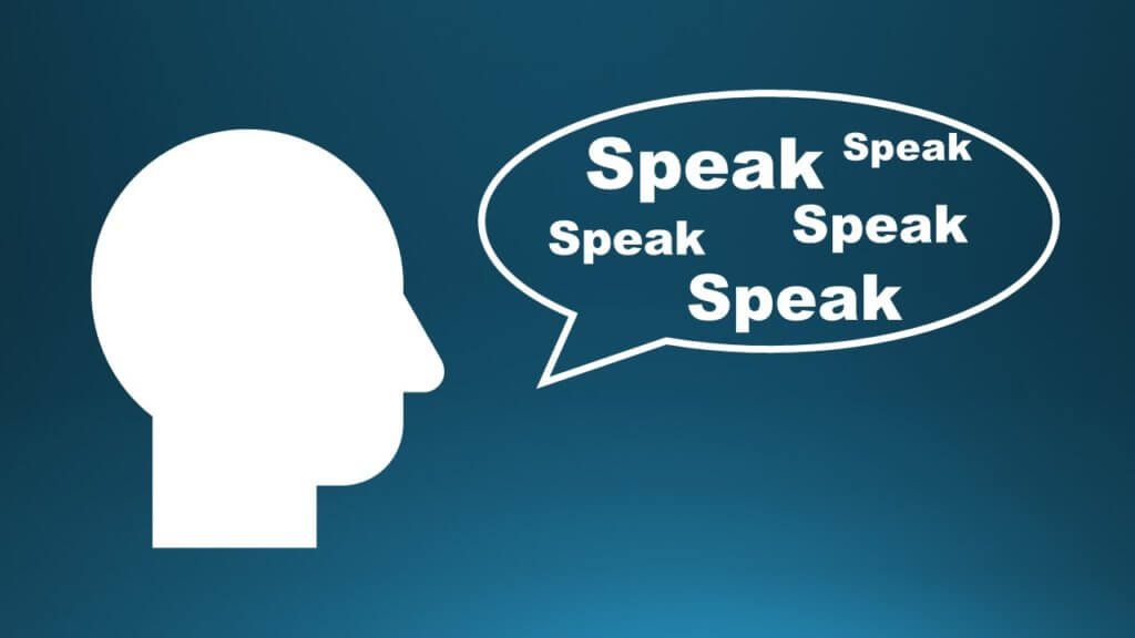 speaking training
